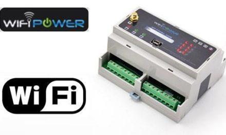 Test du module rail DIN 2 relais WP-PANEL-REL2 de WIFIPOWER