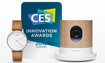 Withings remporte 3 #CES2015 Innovation Awards