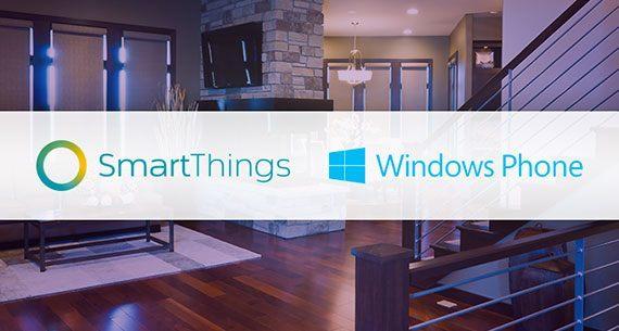 SmartThings windows phone