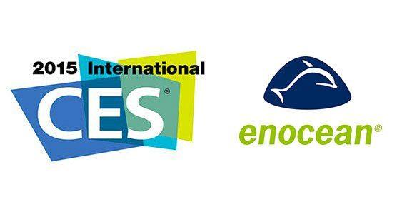 enocean ces 2015 logos