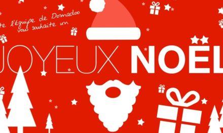 Domadoo vous souhaite un Joyeux Noël !