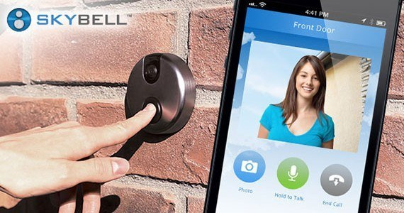 skybell iphone brickphone woman hand1