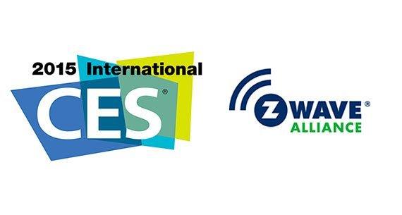 z wave alliance ces 2015 logos