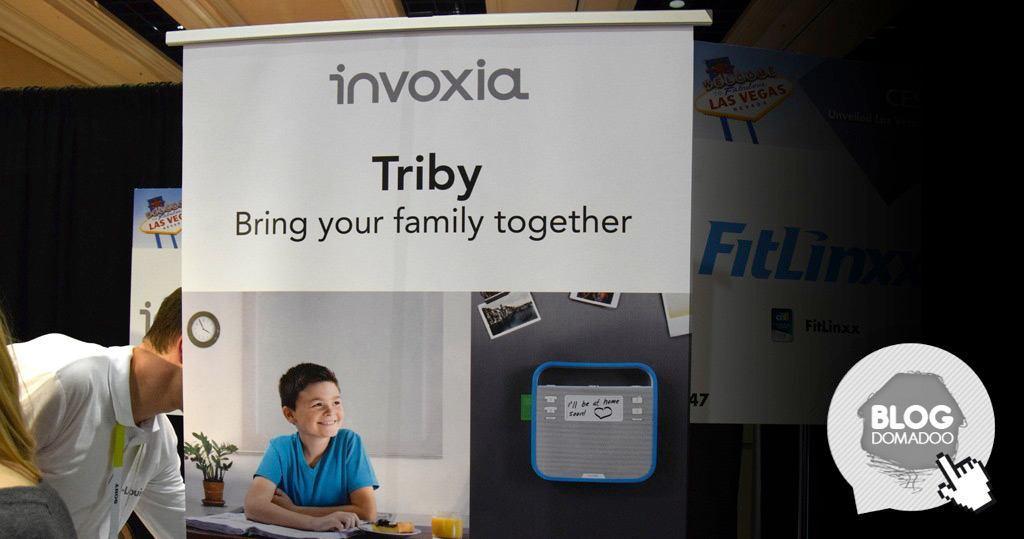 #CES2015 : Triby, une nouvelle façon de communiquer pour la famille