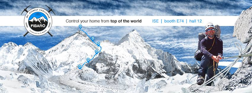 #ISE2015: même du haut de l'Everest, il est possible de piloter sa maison !