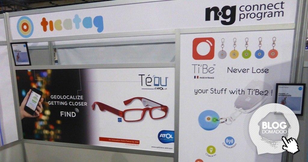 Ticatag a présenté au #CES2015 ses dernières innovations pour ne plus perdre ses affaires