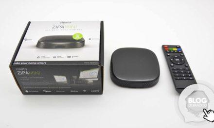 Découverte de la box domotique sous Android ZipaMini de Zipato