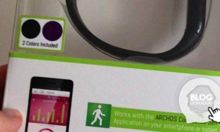 Test du bracelet connecté Archos Activity Tracker