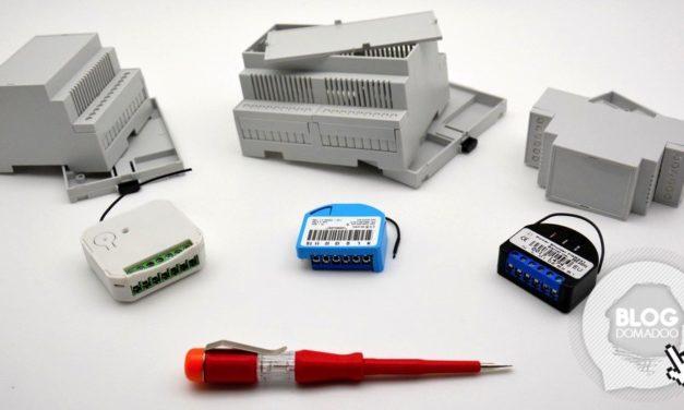 Installez vos micromodules Z-Wave dans votre tableau électrique grâce aux boîtiers Rail DIN Camdenboss