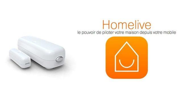 Guide d'utilisation du détecteur d'ouverture Aeon Labs DSB29 avec la base domotique Homelive d'Orange