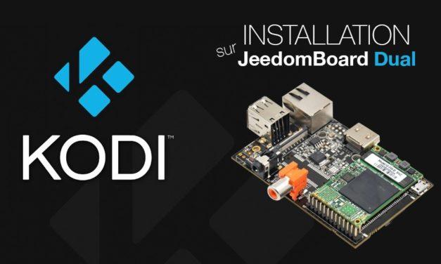 Installation KODI (xbmc) sur JeedomBoard Dual (vidéo)