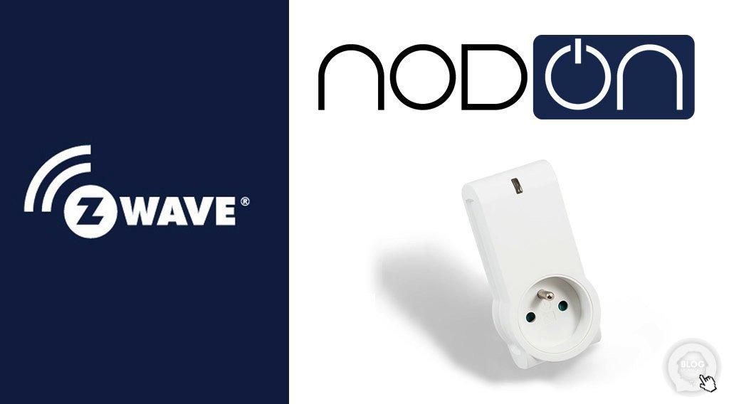 Présentation de la prise commandée NODON Z-Wave+