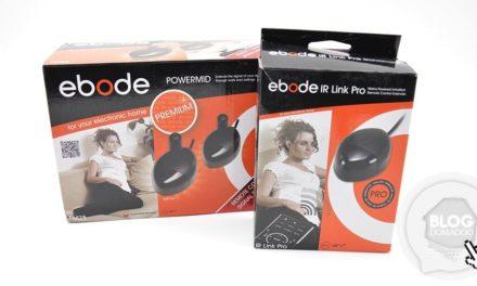 Test de la solution IR Link Pro et de l'extension Powermid Premium de chez Ebode
