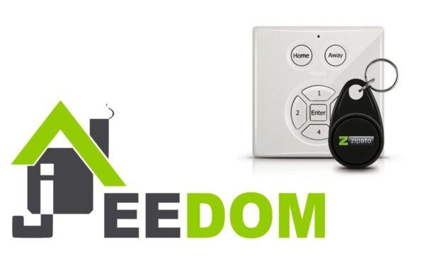 Jeedom – Guide d'utilisation du clavier Zipato mini Keypad RFID