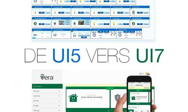 Comment mettre à jour une Vera Lite ou Vera 3 depuis UI5 vers UI7 ?