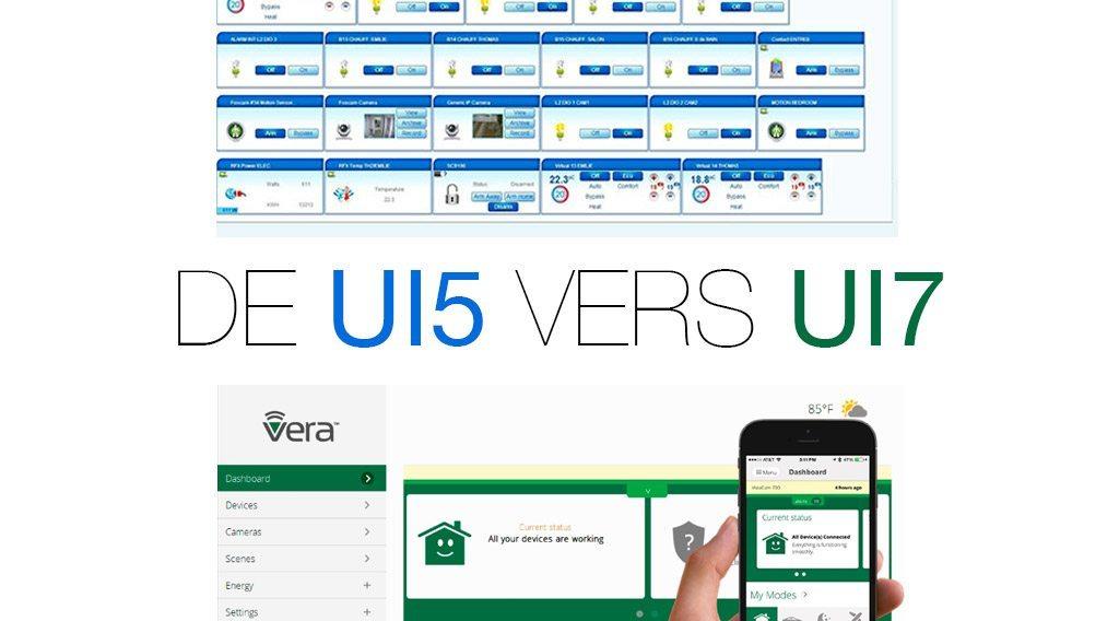 vera mise a jour UI5 vers UI7