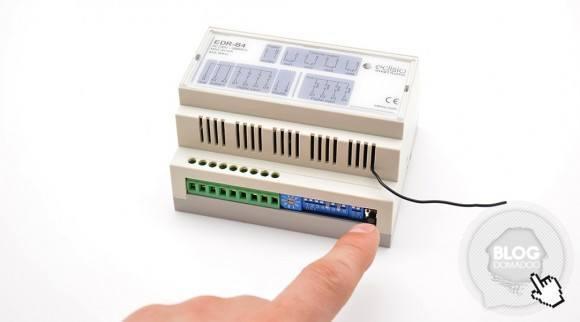 Guide d utilisation du module récepteur Edisio Rail DIN EDR-B4-08