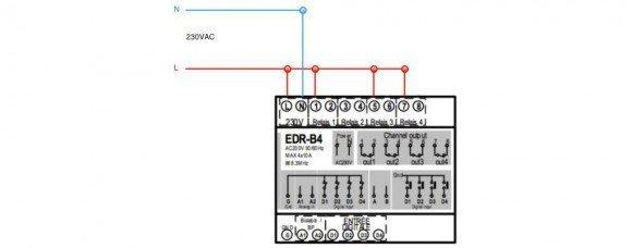 Guide d utilisation du module récepteur Edisio Rail DIN EDR-B4-02