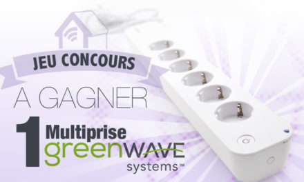 #Concours: gagnez une multiprise Z-wave Greenwave !