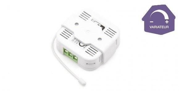 Rendez votre eclairage intelligent grâce au micromodule variateur AD146 Smarthome Europe by Everspring et la box domotique Eedomus Plus