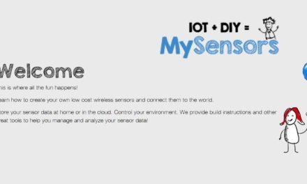 mySensors – Présentation du protocole domotique Open Source pour Arduino