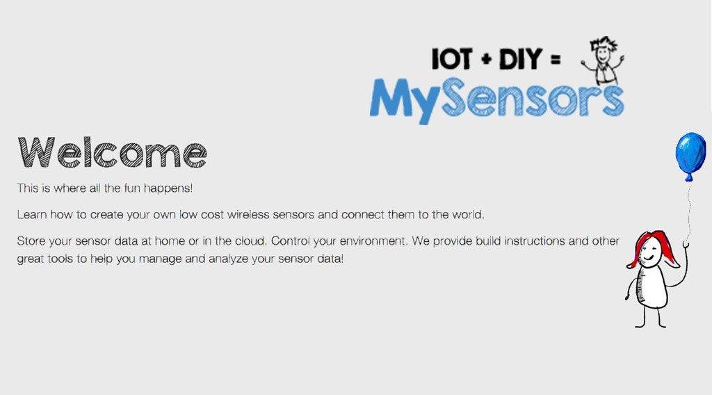 mysensor diy arduino protocole domotique