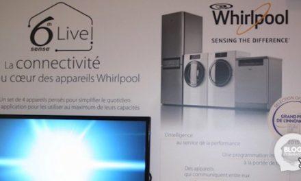 Whirlpool annonce également son électroménager connecté