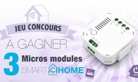 #Concours: 3 micro-modules Smarthome Europe AN179 à gagner !