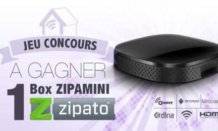 #Concours: gagnez une box domotique ZipaMini !!