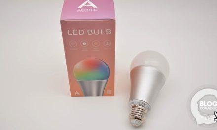 L'ampoule Led Z-Wave+ d'Aeotec est disponible !