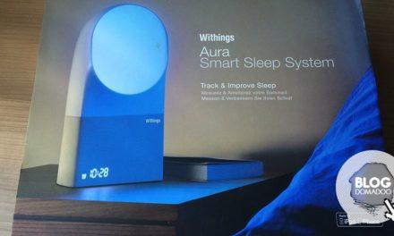 #Test du capteur de sommeil Withings Aura