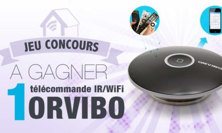 #Concours: gagnez le nouveau contrôleur Infra Rouge Orvibo Allone !