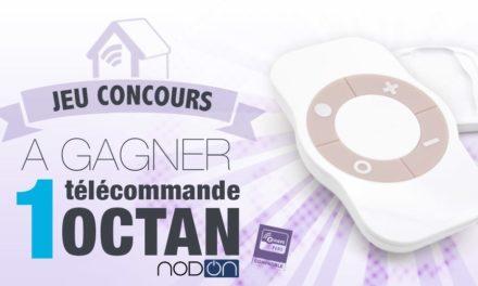 #Concours: gagnez la nouvelle télécommande Nodon Octan Z-wave+ !