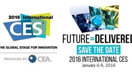 #CES2016 : Début des enregistrements