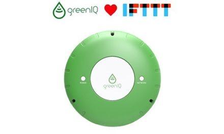 Le contrôleur d'arrosage GreenIQ devient compatible IFTTT
