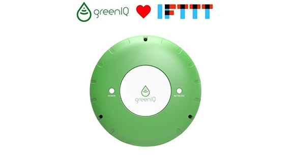 GreenIQ IFTTT une