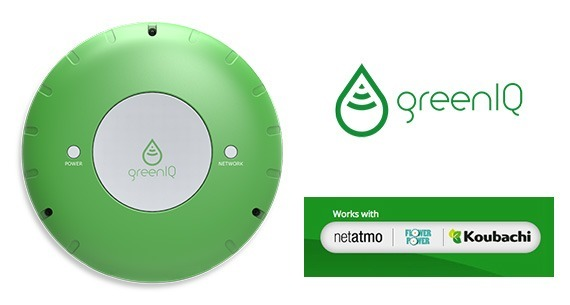GreenIQ Netatmo Flower Power une