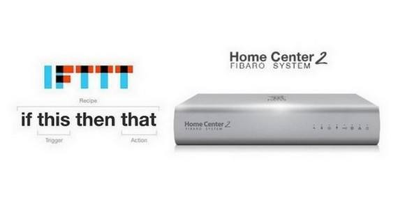 IFTTT home center 2 trigger couverture