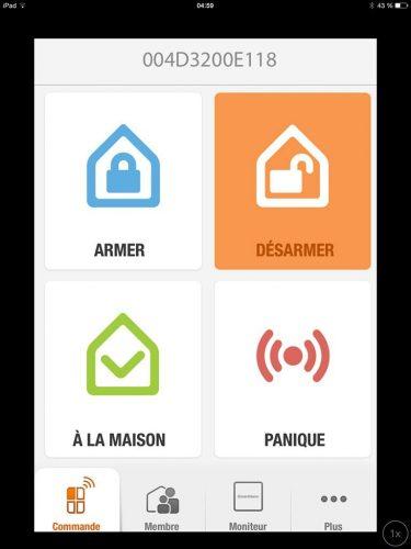 iSmartAlarm_App_Menu-commande
