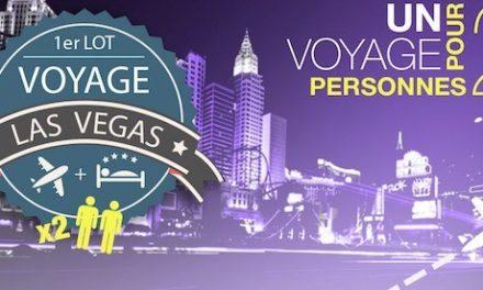 #Concours: un voyage à Las Vegas et plus de 70 lots à gagner !