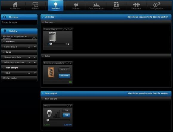 Votre eclairage devient intelligent grâce au micromodule variateur FGD-212 et la box domotique Home Center 2 ou Lite