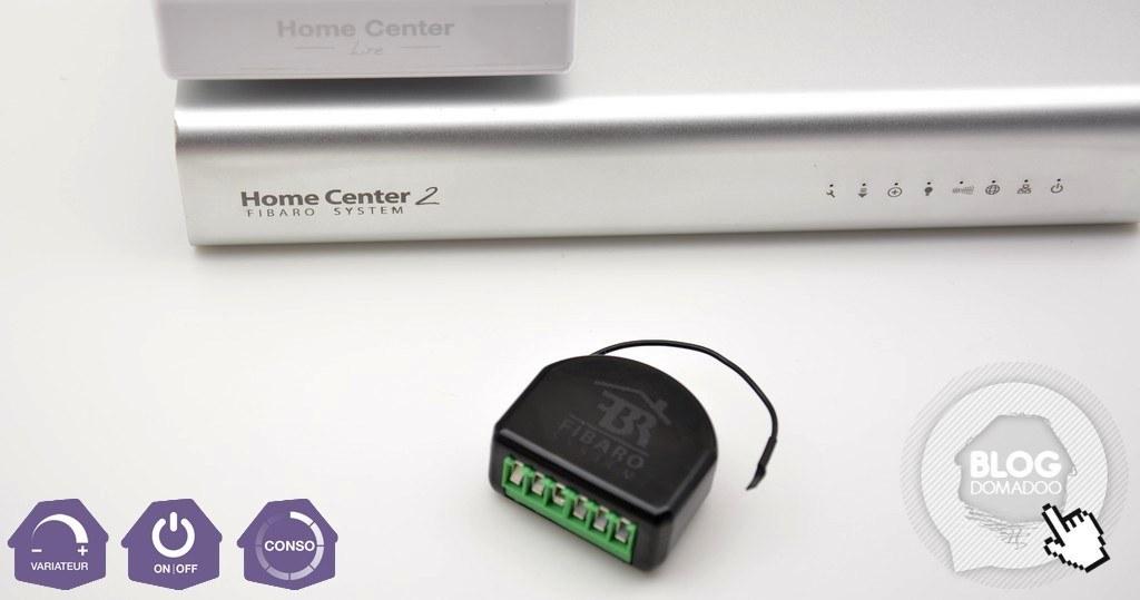 votre eclairage devient intelligent grace au micromodule variateur fgd 212 et la box domotique home center 2 ou lite domotique