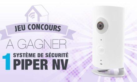#Concours: gagnez la nouvelle caméra Z-wave + Piper NV !