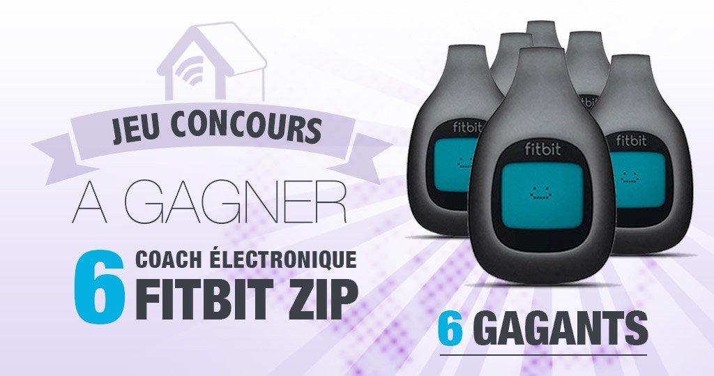 #Concours: restez en forme avec 6 Fitbit Zip à gagner !