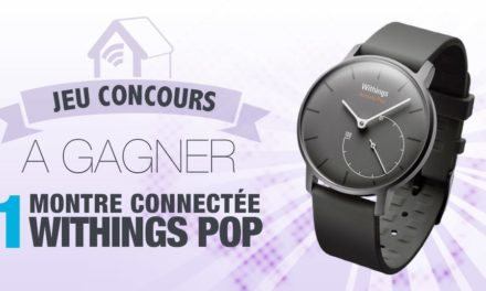 #Concours: gagnez une montre Withings Pop !