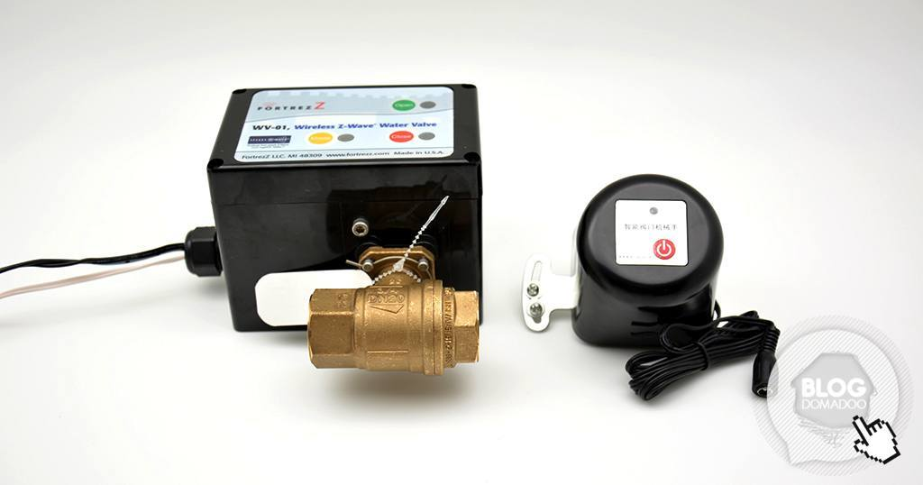 Pilotez vos vannes d'arrivée d'eau ou de gaz en Z-Wave