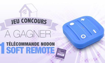 #CONCOURS: gagnez une télécommande Z-wave Soft Remote NodOn
