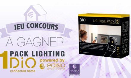 #CONCOURS: gagnez un pack Lighting DIO pour piloter votre éclairage