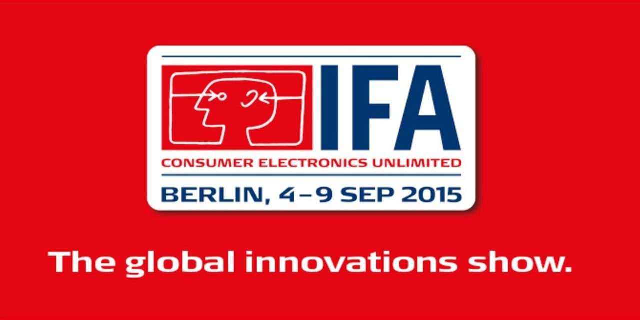 L'#IFA2015 démarre demain: et nous y serons !