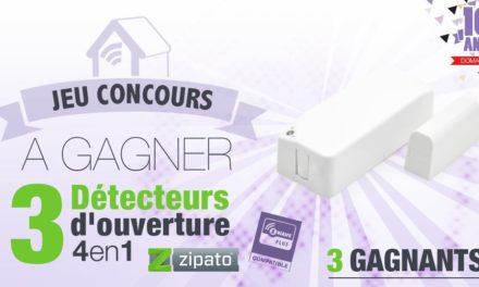 #CONCOURS: 3 détecteurs d'ouverture 4-1 Z-wave Zipato à gagner !